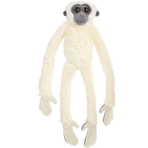Gibbone bianco peluche grande