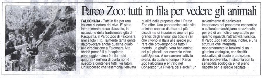 Corriere Adriatico<br>18 aprile 2006