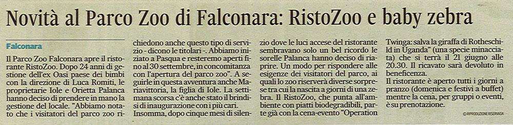 Corriere Adriatico<br>29 maggio 2015