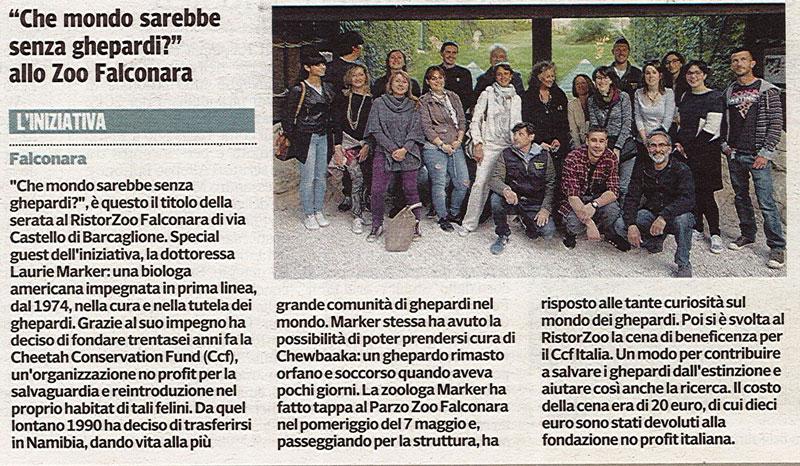Corriere Adriatico<br>8 maggio 2016