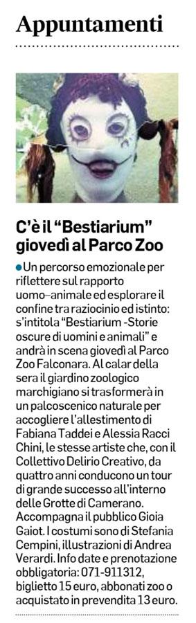 Corriere Adriatico 16 maggio 2017