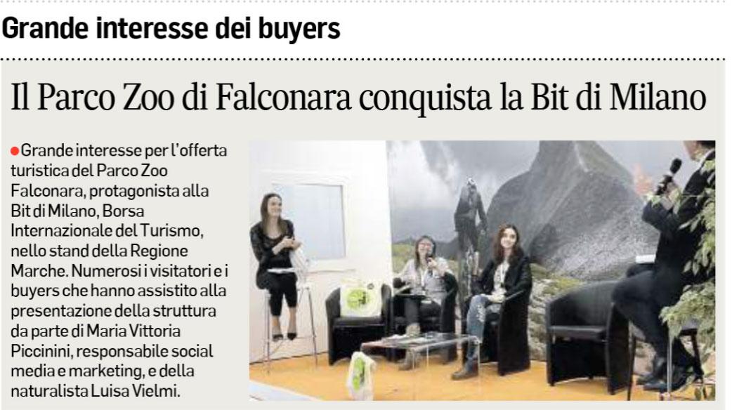 Corriere Adriatico 15 febbraio 2019