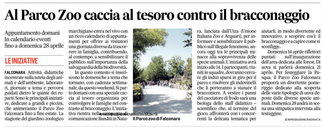 Corriere Adriatico 6 aprile 2019