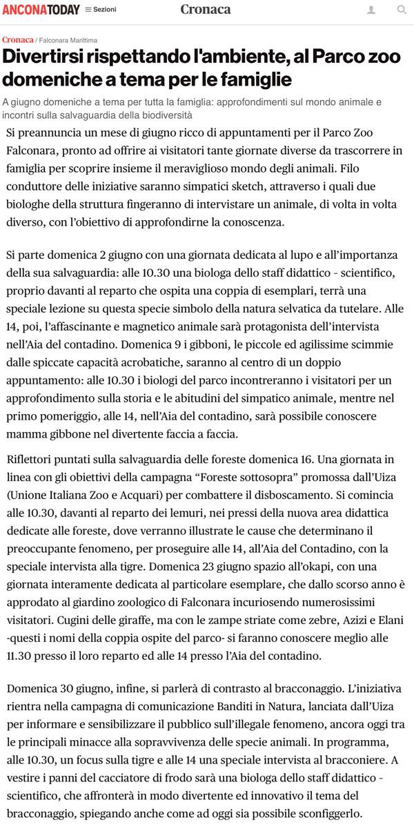 AnconaToday.it 31 maggio 2019